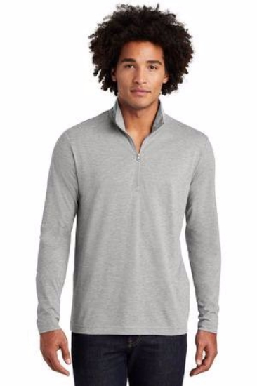 Sport-Tek  PosiCharge  Tri-Blend Wicking 1/4-Zip Pullover. ST407