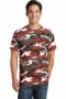 Port & Company Core Cotton Camo Tee.  PC54C