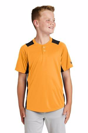 New Era  Youth Diamond Era 2-Button Jersey. YNEA221