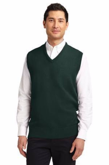 Port Authority Value V-Neck Sweater Vest. SW301