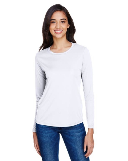 Ladies' Long Sleeve Cooling Performance Crew Shirt - NW3002