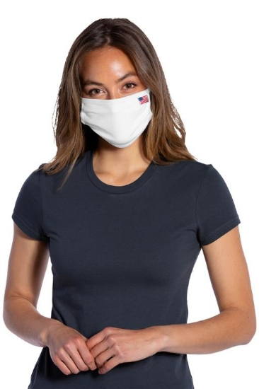 Port Authority  All-American Cotton Knit Face Mask. USPAMASK
