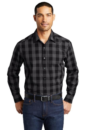 Port Authority  Everyday Plaid Shirt. W670